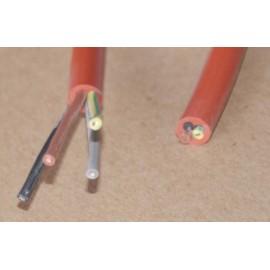 kabel przewód silikonowy - 4 x 0,75 mm2