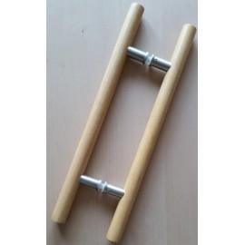 Klamka HAS - Premium drewno-drewno