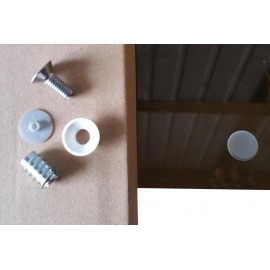 System mocowania szyb - 85036