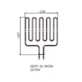 grzałka SEPC 65 B - 3,0 kW