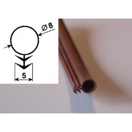 uszczelka silikonowa B2 brąz 8 mm