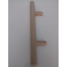 Klamka EL - antaba drewno jasne - do zestawu