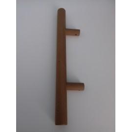 Klamka EL - antaba drewno termo - do zestawu