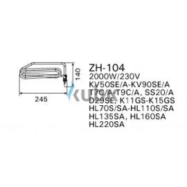 Grzałka Harvia ZH-104 2000 W