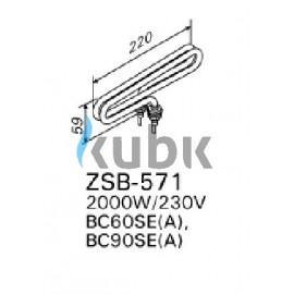 Grzałka Harvia ZSB-571