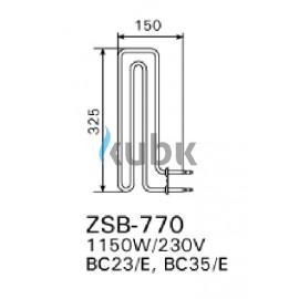 Grzałka Harvia ZSB-770 - 1150 W