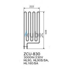 Grzałka Harvia ZCU-830 3000 W