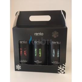 RENTO BOX - Zestaw 3 aromatów: Arktyczna jagoda, brzoza, eukaliptus