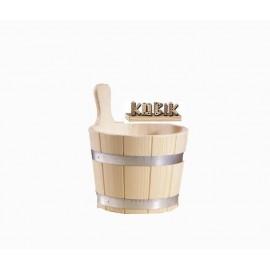 Ceber drewniany Eos - 5 L