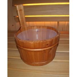 Ceber drewniany Emendo - 4 L
