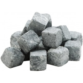 Kamienie do pieca do sauny - ozdobne kostki 32 sztuki
