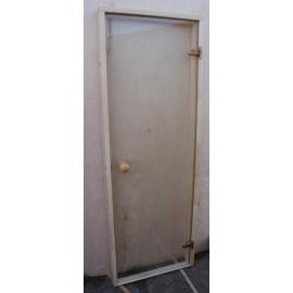 Drzwi szklane - Trend 7x19 - sosna 69x189 cm - przezroczyste