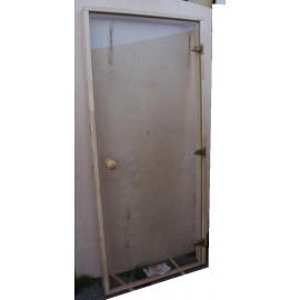 Drzwi szklane - Trend 8x20 - sosna 79x199 cm - przezr.