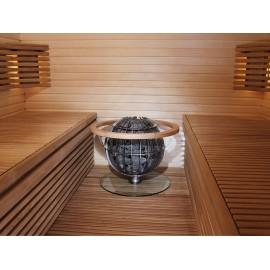 Szkło chroniące ławkę do Globe GL - Harvia HGL8