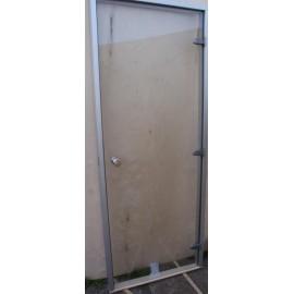 Drzwi do łaźni parowej 8x20 - 79x199 cm - przezroczyste