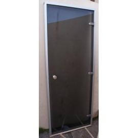 Drzwi do łaźni parowej 8x20 - 79x199 cm - szare