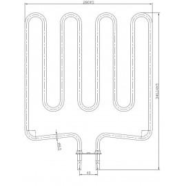 grzałka Sawo HP02-004 - SCA150 - 1,50 kW