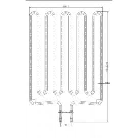 grzałka Sawo HP02-007 - SCA266 - 2,66 kW
