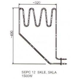 grzałka SEPC 12 - 1,5 kW