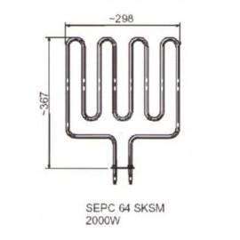 grzałka SEPC 64 - 2,0 kW