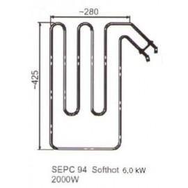 grzałka SEPC 94 - 2,0 kW