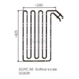 grzałka SEPC 96 - 3,0 kW