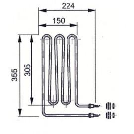 grzałka Eos 1,5 kW - 20008085