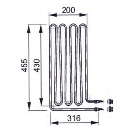 grzałka Eos 1,50 kW - 20008663