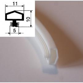 Uszczelka silikonowa - Euro 11 - biała