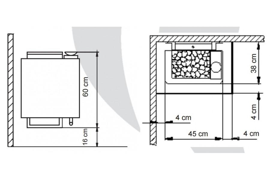 kubik piec do sauny eos bi o tec dystrybutor producent serwis. Black Bedroom Furniture Sets. Home Design Ideas
