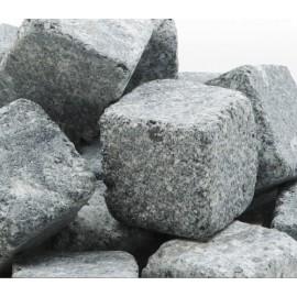 Kamienne kostki o wysokości 6 cm - 10 szt.