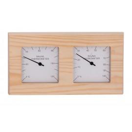 Termometr-Higrometr do sauny Sawo - 224-THP - sosna