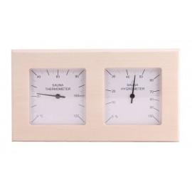 Termometr-Higrometr do sauny Sawo - 224-THA - osika