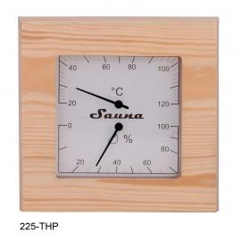 Termometr-Higrometr do sauny Sawo - 225-THP - sosna