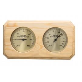 Termometr-Higrometr do sauny Sawo - 221 THP - sosna