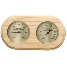 Termometr-Higrometr do sauny Sawo - 222 - sosna