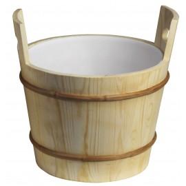 Ceber drewniany Sawo - 391-P - 26 L - sosna
